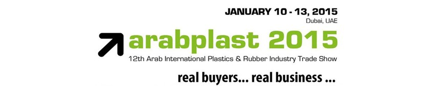 ARABPLAST Dubai, United Arab Emirates, 10-13 january 2015