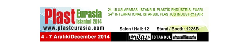 PLAST EURASIA Istanbul, Turchia, 4-7 dicembre 2014